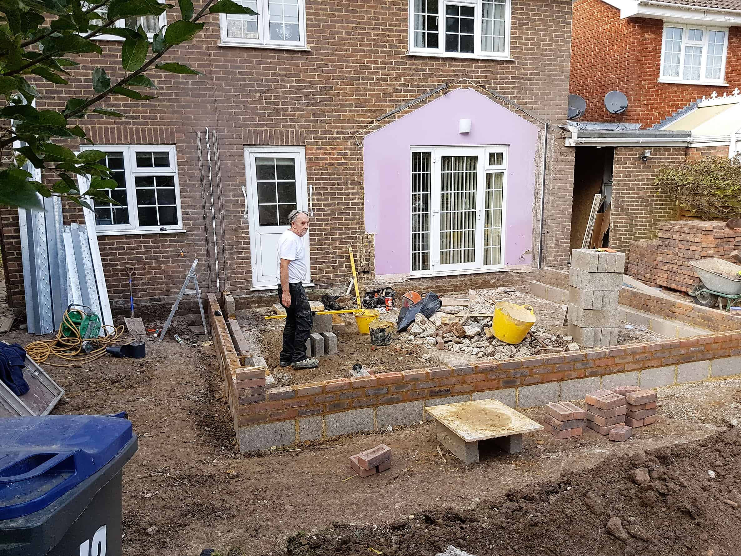 Building an Extension Canterbury Kent